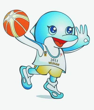 第26届亚洲男子篮球锦标赛会徽和吉祥物在武汉体育中心揭晓.