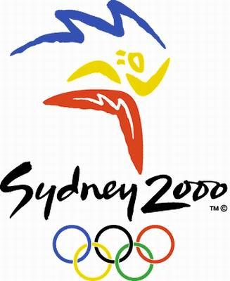 2000年澳大利亚悉尼第二十七届奥运会会徽图片