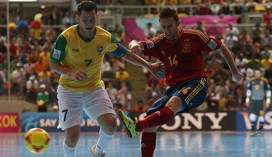 五人制世界杯-巴西3-2绝杀西班牙 第五次夺冠