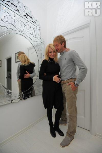 普鲁申科和妻子(资料图)